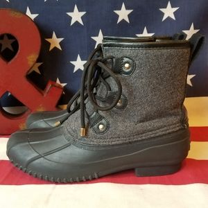 Tommy Hilfiger Duck Style Microfleece/Rubber Boots